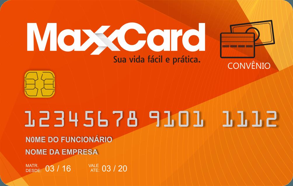 maxxcard cartão - convênio maxxcard