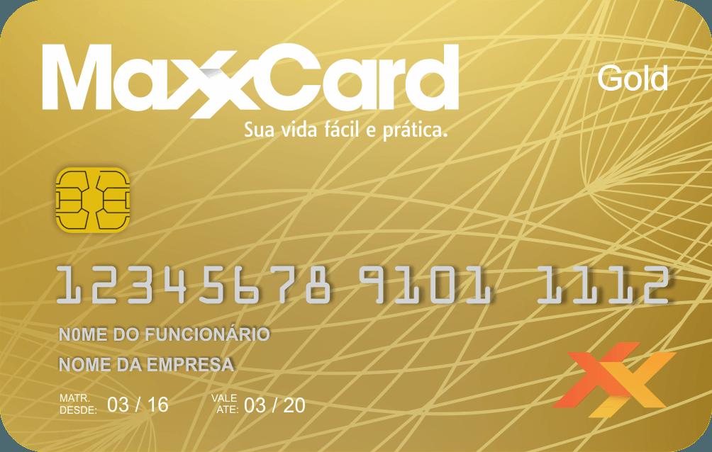 maxxcard cartão -maxxgold