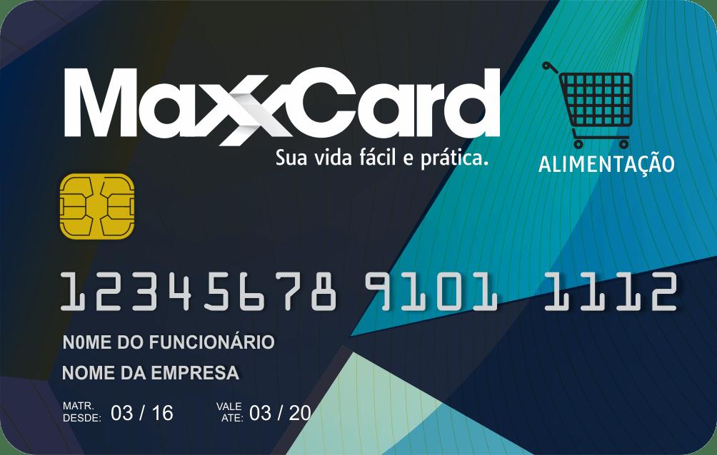 maxxcard cartão - alimentação maxxcard