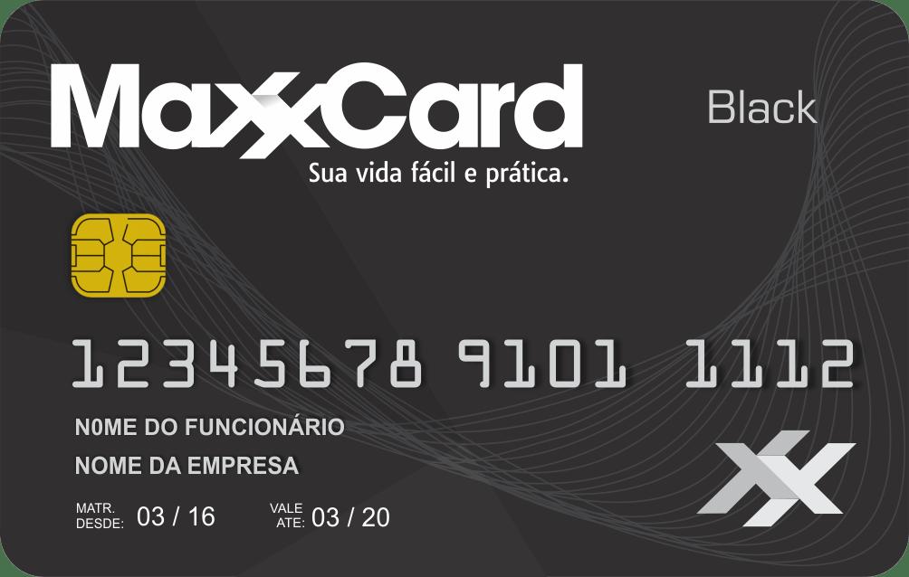maxxcard cartão - black corporativo